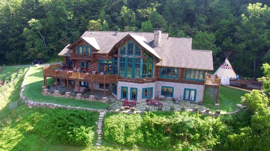 Leicester, Северная Каролина: Overview of Wildberry Lodge