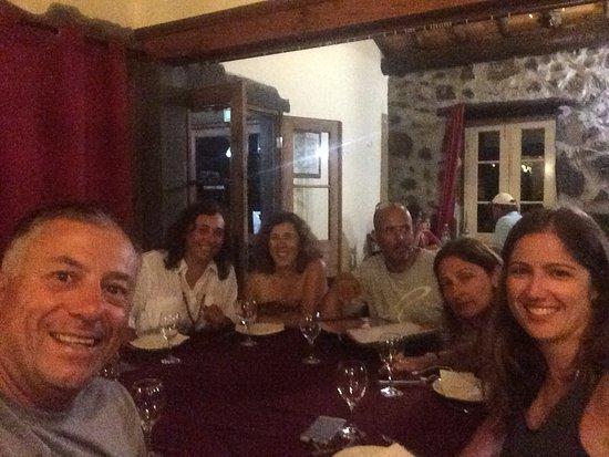 Santa Cruz Da Graciosa, Portugal: Jantar de amigos