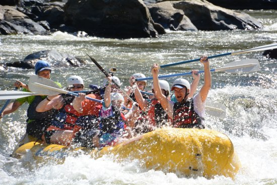 Blue Heron Whitewater: Our family group including a 10 year old