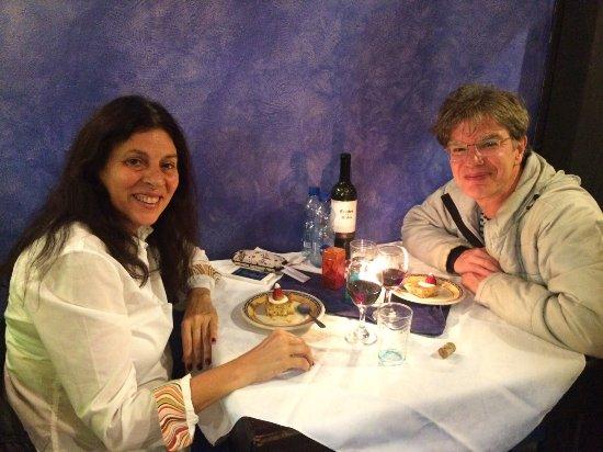 Cana Mandur Restaurant: Una cena romantica a la luz de las velas.