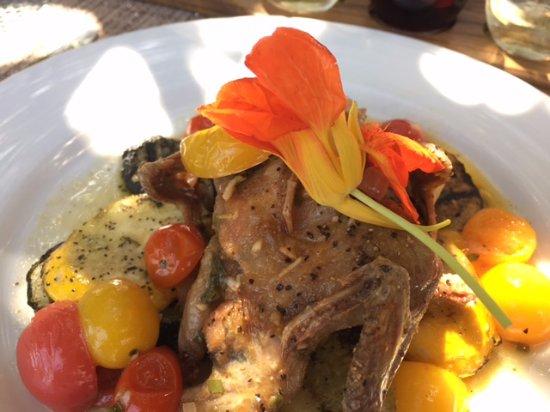 Bolton, Μασαχουσέτη: Pan roasted quail