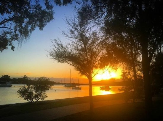 Noosaville, Austrália: Another glorious start to the day....