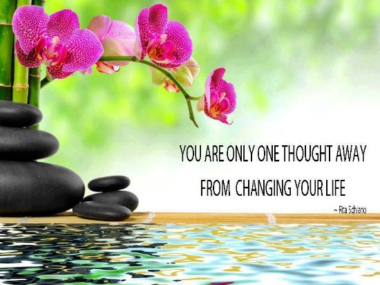 Noosaville, Αυστραλία: You are only one thought away from changing your life...