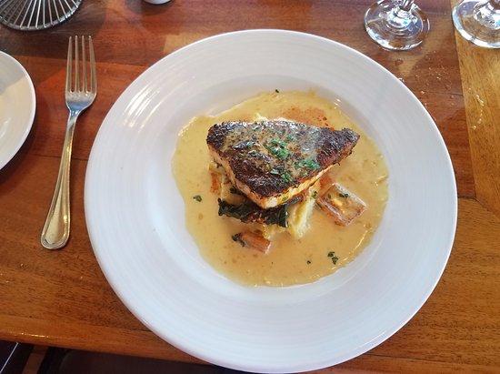 Seafood Peddler: Blackened swordfish