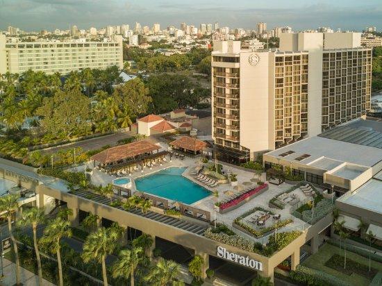 Sheraton Santo Domingo Hotel: Sheraton Santa Domingo Hotel sits across the street from the Caribbean Sea