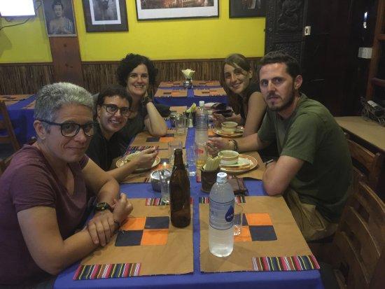 Shiva Guest House1 & 2: Dinner