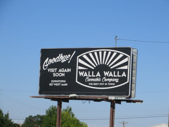 Walla Walla Garden Motel: I guess we're not in Kansas anymore.