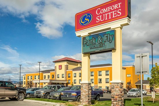 Comfort Suites Helena Airport: Exterior