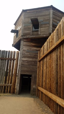 Fort Vancouver National Historic Site : Corner tower