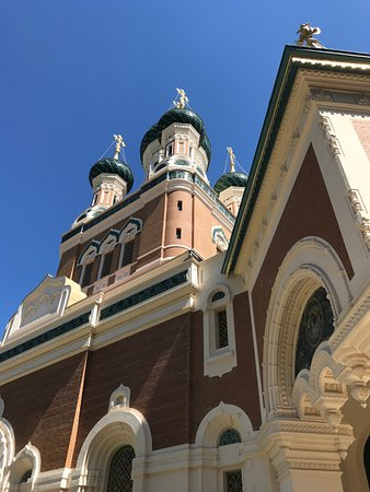 Cathédrale Orthodoxe Russe Saint-Nicolas de Nice : Foto da Igreja