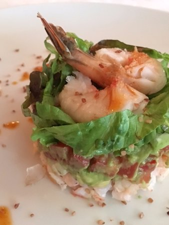 Great Parnassus Family Resort: appetizer at Le Maison de Michelle