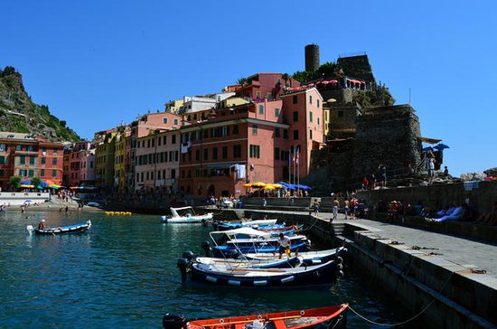 Private 5-Hour Cinque Terre Boat Tour...