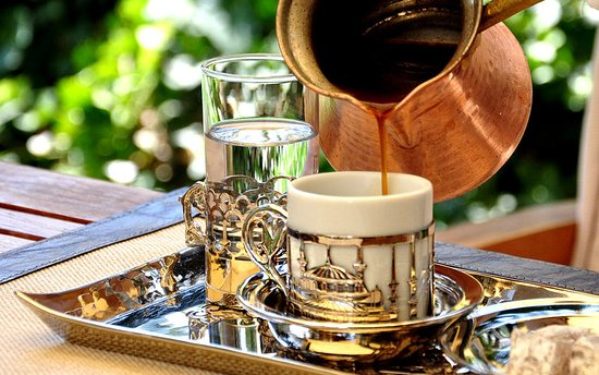 Lugal A Luxury Collection Hotel : Turkish Coffee