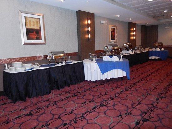 Kulpsville, PA: Elements Ballroom set up for a Wedding!