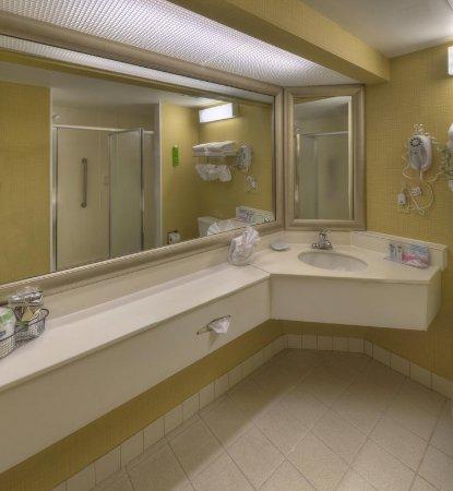 Hampton Inn Amelia Island at Fernandina Beach: Suites Bathroom