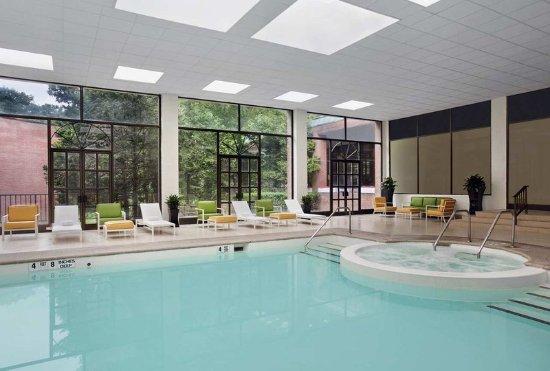 Rye Brook, Νέα Υόρκη: Indoor Pool