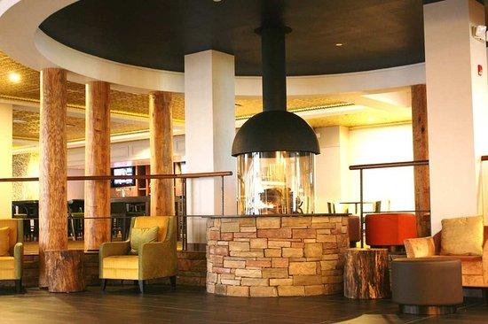 Rye Brook, Νέα Υόρκη: Hilton Westchester Lobby