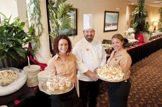 Wait staff and chef picture of hilton garden inn - Hilton garden inn pensacola airport ...