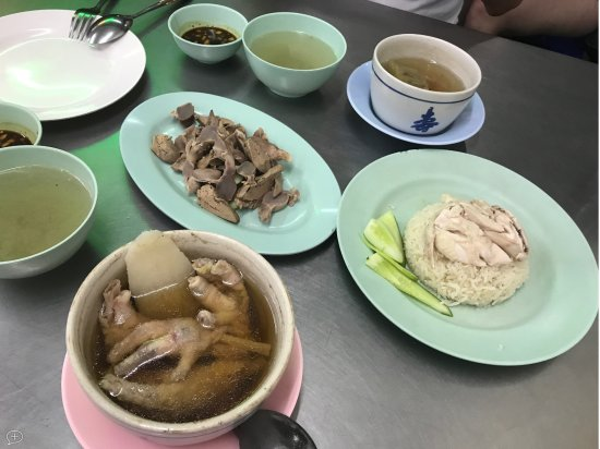 Check Rice Chicken Legs Soup And Chicken Gizzards Picture Of Go