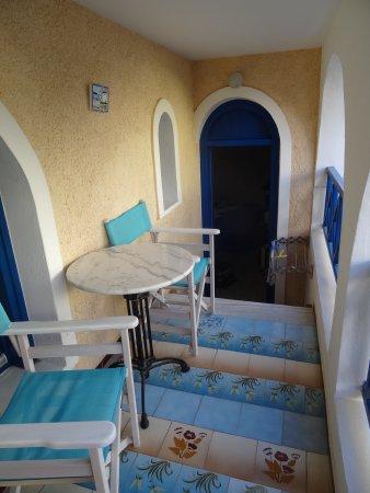 Princess Santorini Villa: This was our room