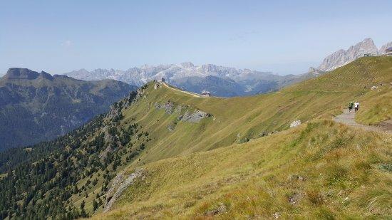 Sentiero Viel del Pan: panorama