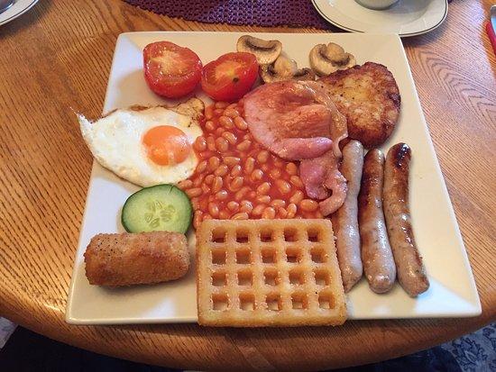 Helmsdale, UK: Frühstück