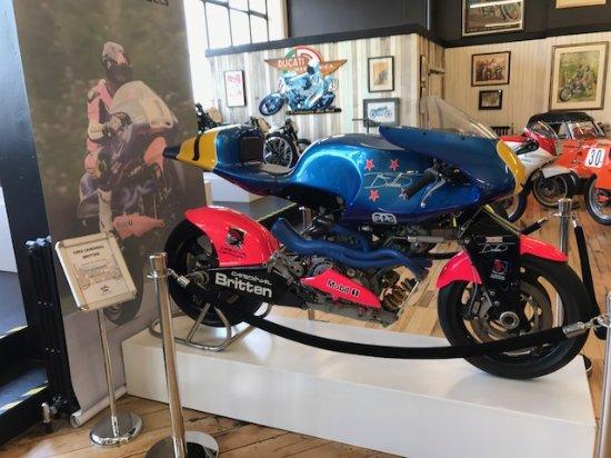 Invercargill, Selandia Baru: Britten Motorcycle