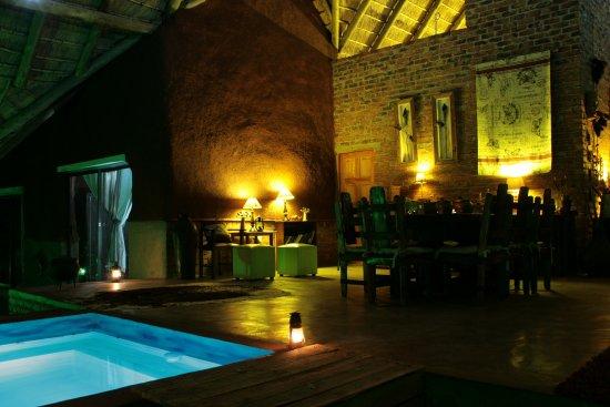 Marloth Park, Sydafrika: and dining area