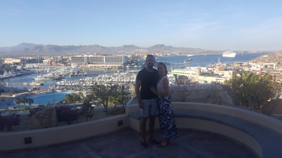 Sandos Finisterra Los Cabos: The lovely marina views near our room