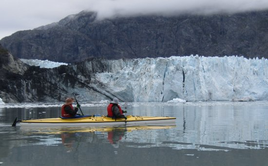Gustavus, AK: kayaking at the Marjorie Glacier