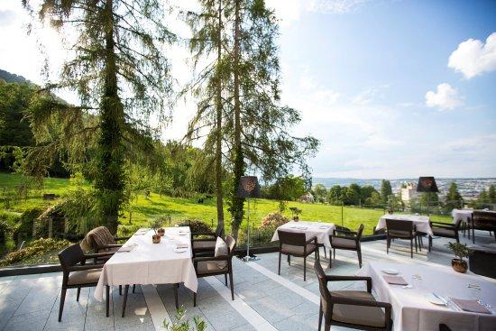 Private Dining Room Ecco Zurich Restaurant Terrasse