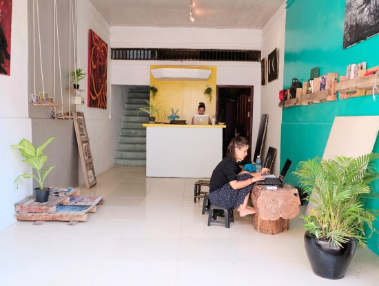 Battambang, Cambodia: First floor/ shop and workspace