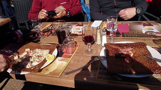 Champagny-en-Vanoise, France: ガレットも美味しい