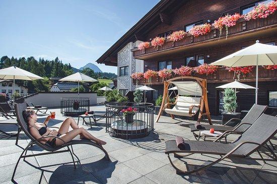 Hotel Haymon: Dachterrasse roof terrace
