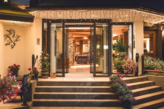 Hotel Haymon: Hoteleingang