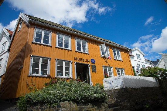 Kragero Municipality, Norveç: Kittelsenhuset i Kragerø sentrum