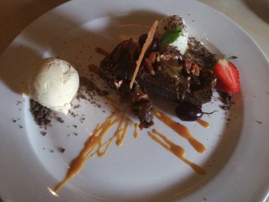 Gasselte, The Netherlands: Rockslide brownie