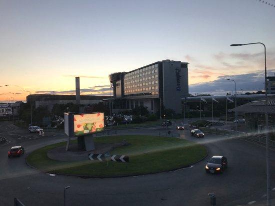 view of hotel from near t1 picture of radisson blu hotel rh tripadvisor co za