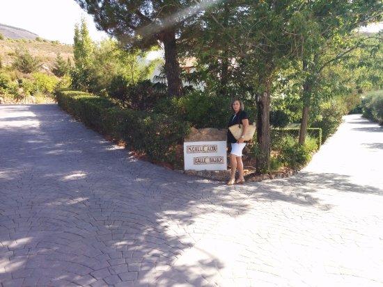 Laujar de Andarax, Hiszpania: Caminos que se dirigen a las habitaciones