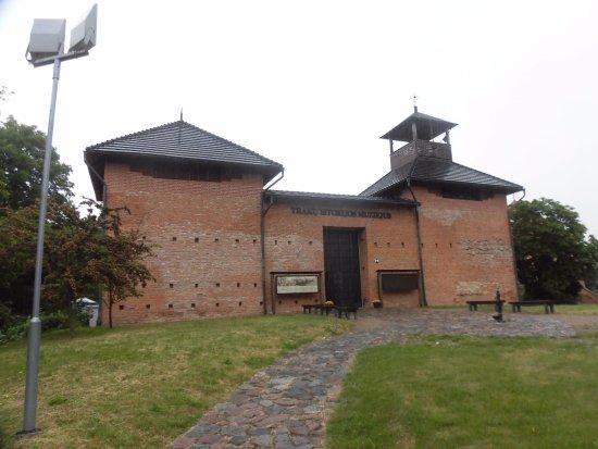 Trakai, Lituania: 博物館正面