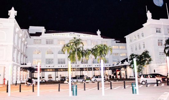 Eastern & Oriental Hotel: The hotel