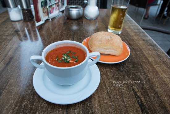 Nagold, Germany: Tomatensuppe