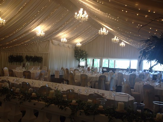 The Wedding Barn Dressed And Ready To Go Picture Of Crockwell Farm