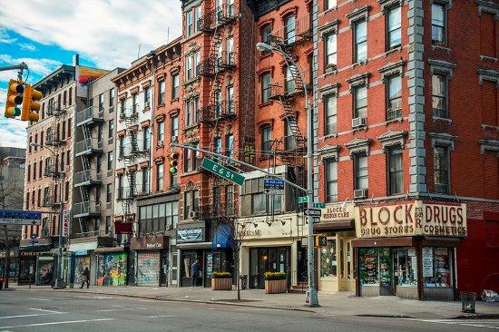East Village of New York City