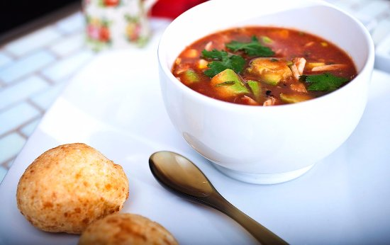 Seafood Gazpacho - Picture of Carmo, New Orleans - TripAdvisor