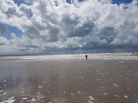 Aberdyfi (Aberdovey), UK: Aberdovey Beach