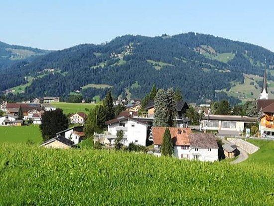 Gasthof Wälderhof: Ein Blick auf Lingenau