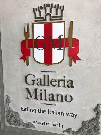 Galleria Milano Restaurant: galleria milano