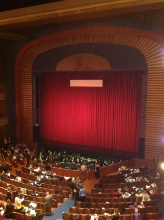 Saint Paul, MN: Ordway-Stage from Balcony (7/2017)