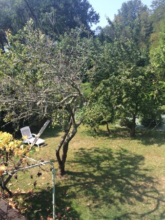 Chateau Le Baudou: Gite only - secluded garden via patio